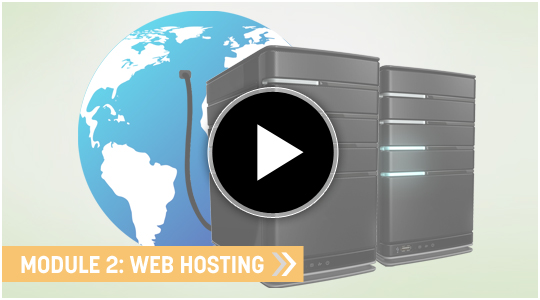 Website Hosting - My Blogging Empire course