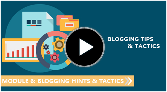 Blogging hints and tactics - My blogging empire