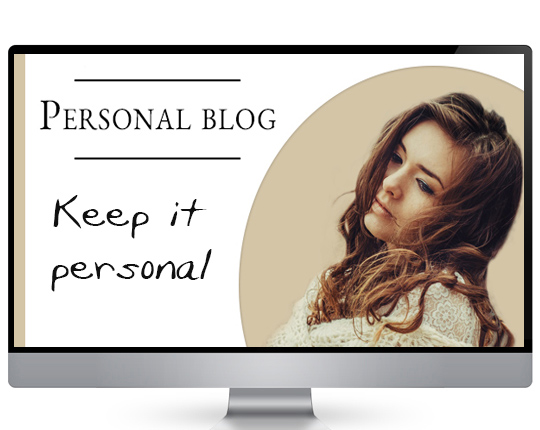 My Blogging Empire - Keeping it personal how to Blog