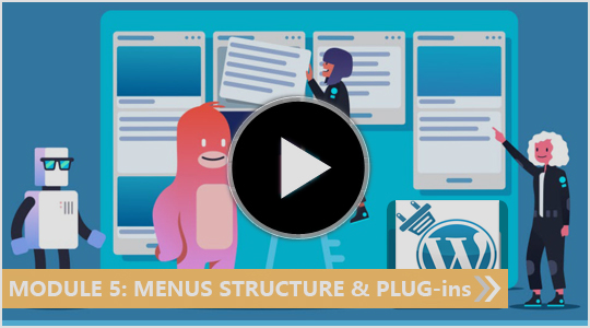 Menus structure and Plug-ins - My Blogging Empire