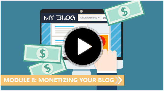 Monetising Your Blog - My Blogging Empire