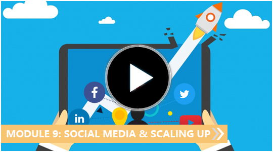 Social media and scaling up - My Blogging Empire