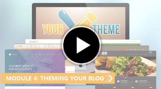 My Blogging Empire - Theming your Blog